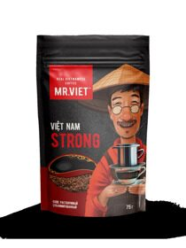 Кофе натуральный растворимый сублимированный MR.VIET ROBUSTA